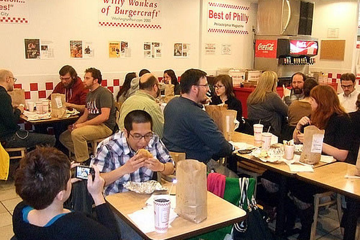 Burger Club (2009) at Five Guys