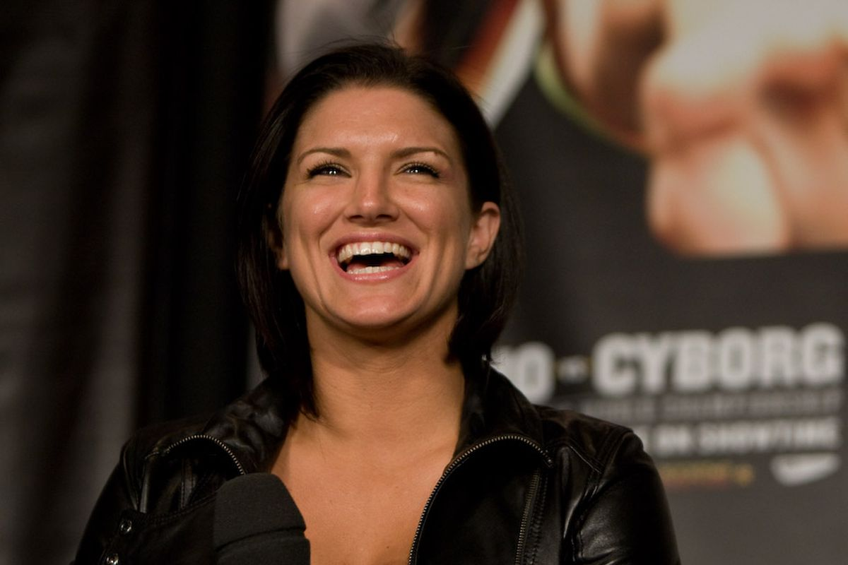 Dana White calls Gina Carano 'the hardest human being we ...