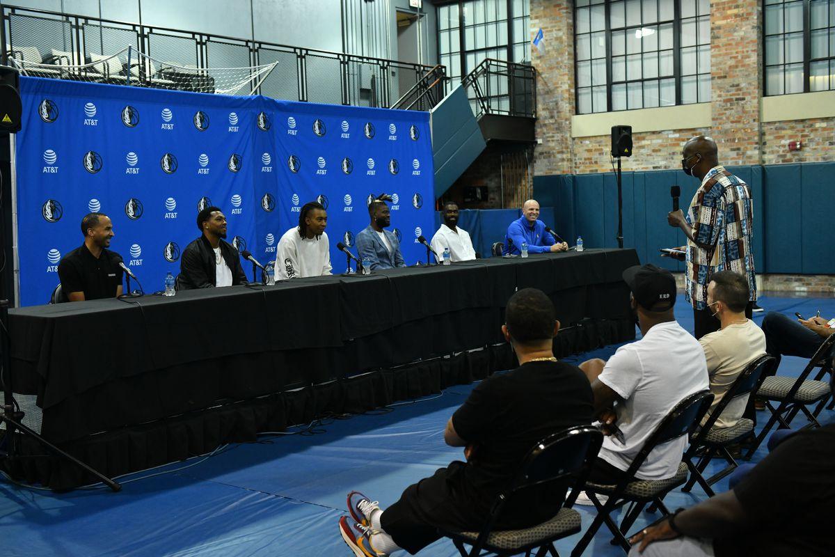 Dallas Mavericks Press Conference