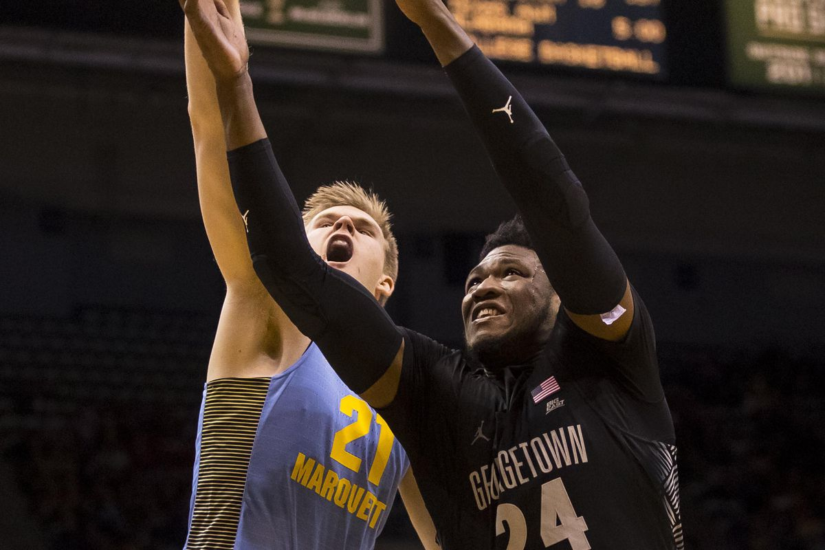 NCAA Basketball: Georgetown at Marquette