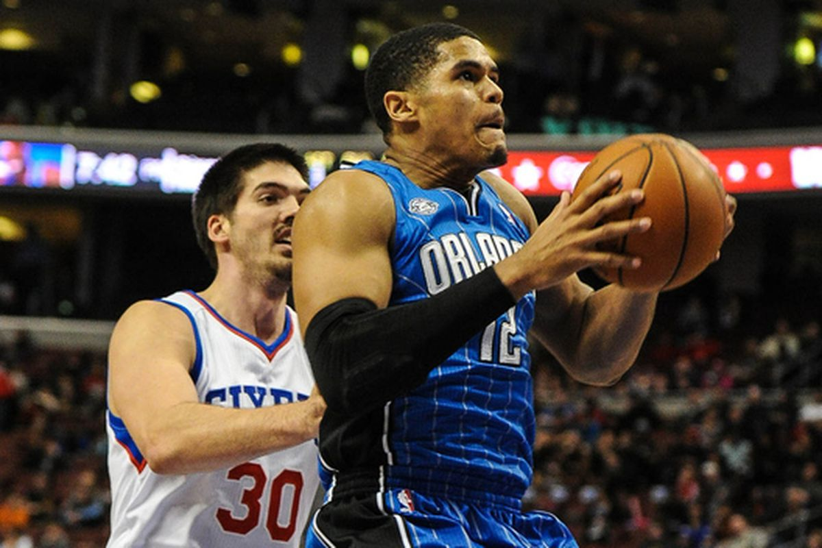 Byron Mullens and Tobias Harris
