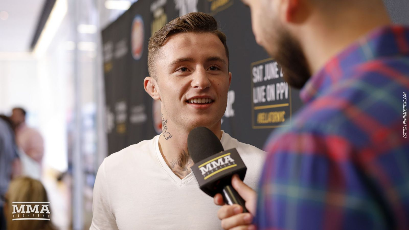 James Gallagher accuses A.J. McKee of starting 'fake feud'