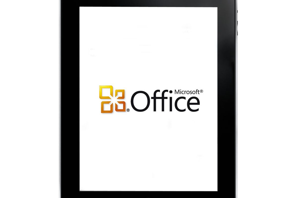 Microsoft Office iPad PS logo