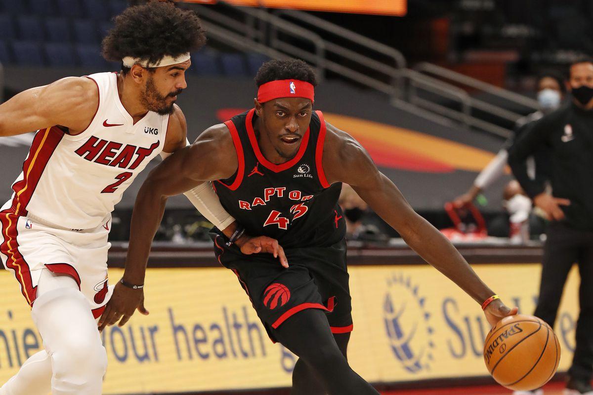Five thoughts recap: Toronto Raptors 101, Miami Heat 81, Pascal Siakam