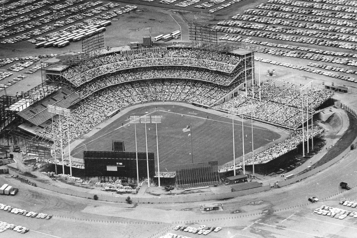 """April 21, 1961: Twins play their first game at Met Stadium, losing to the expansion Washington Senators of all people. Only 24,606 fans showed up, prompting Griffith to express that he was """"disappointed in the crowd.''"""