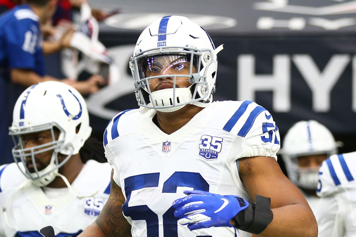 huge discount ad892 e58e2 Colts News: Does veteran linebacker Najee Goode have a ...