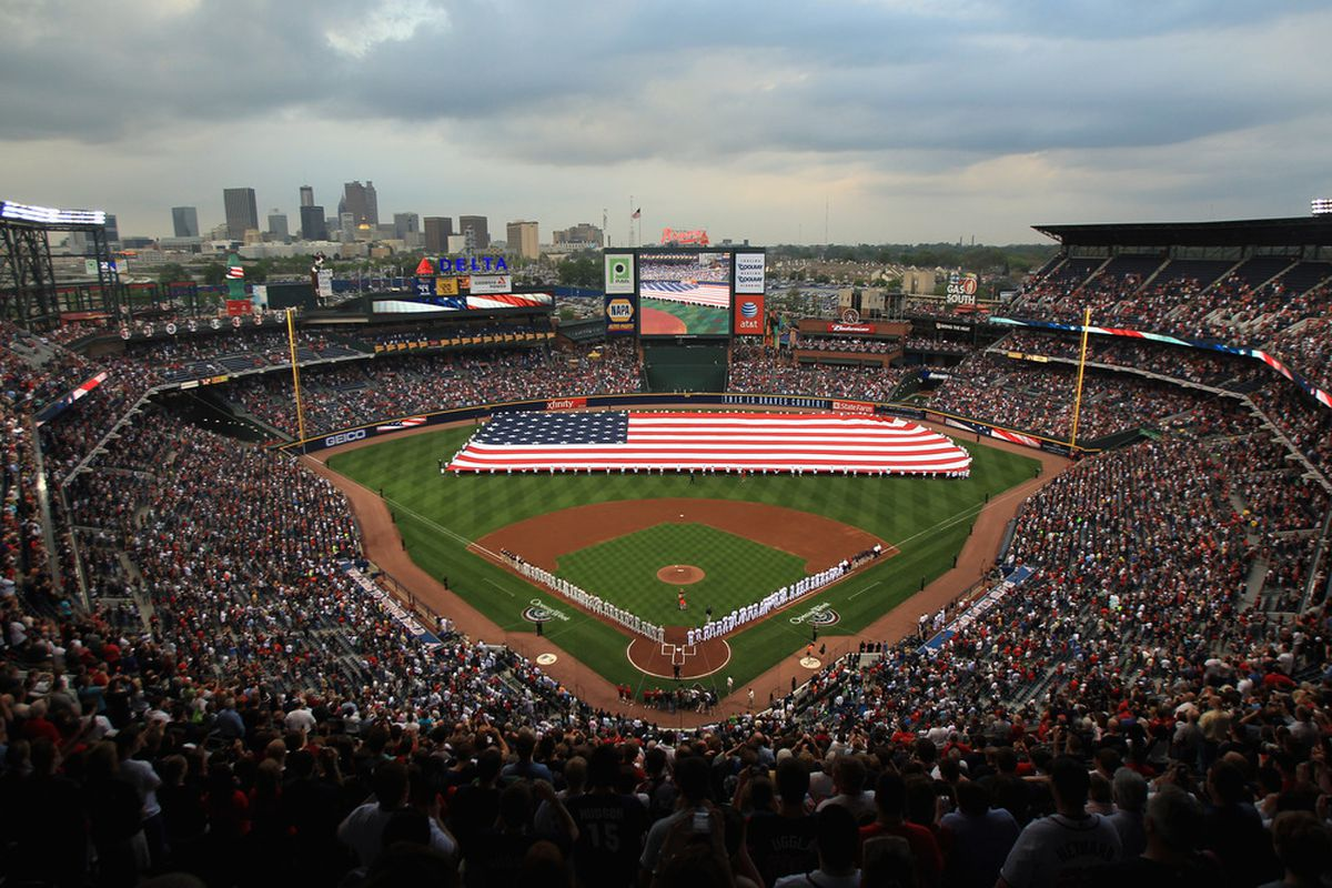 The Braves will open the 2012 season on Friday the 13th!