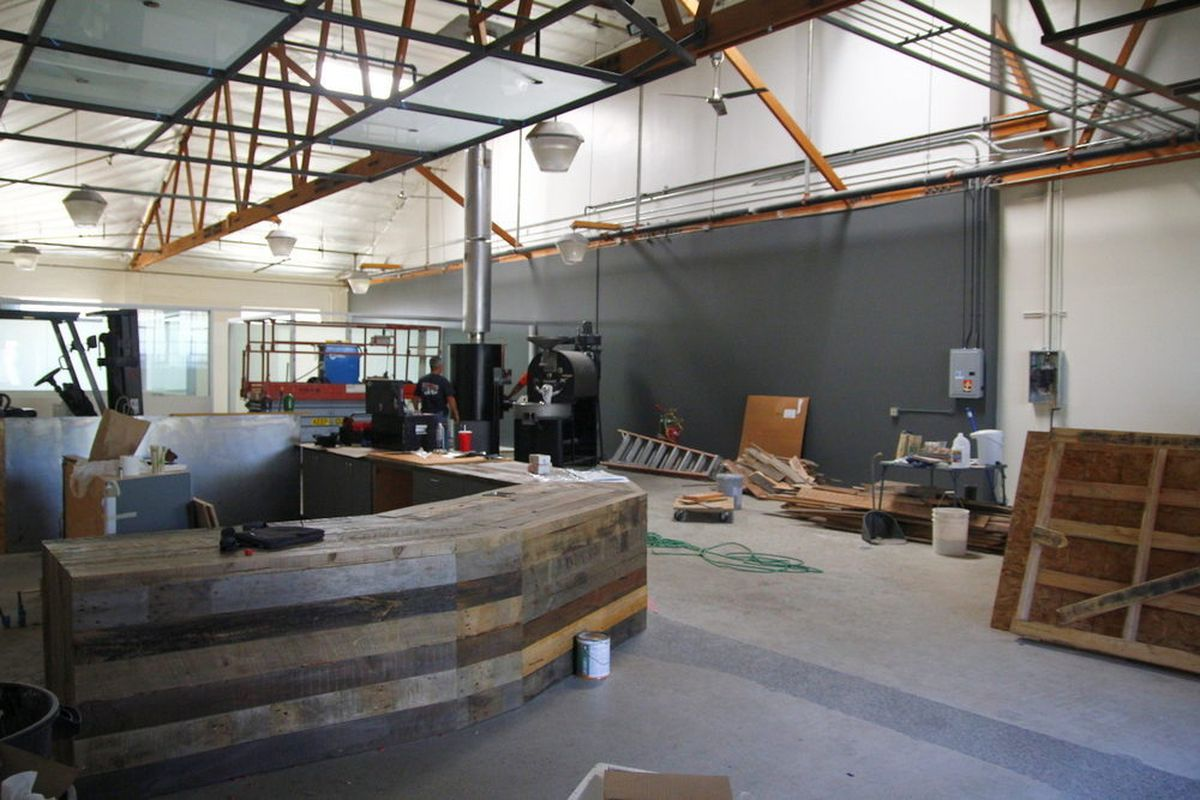 Roastery Cafe In Culver City