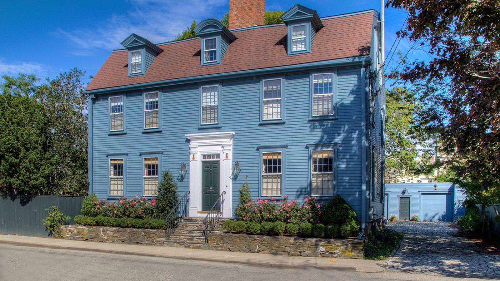 Elegant Newport Colonial Blocks From The Harbor Asks 1