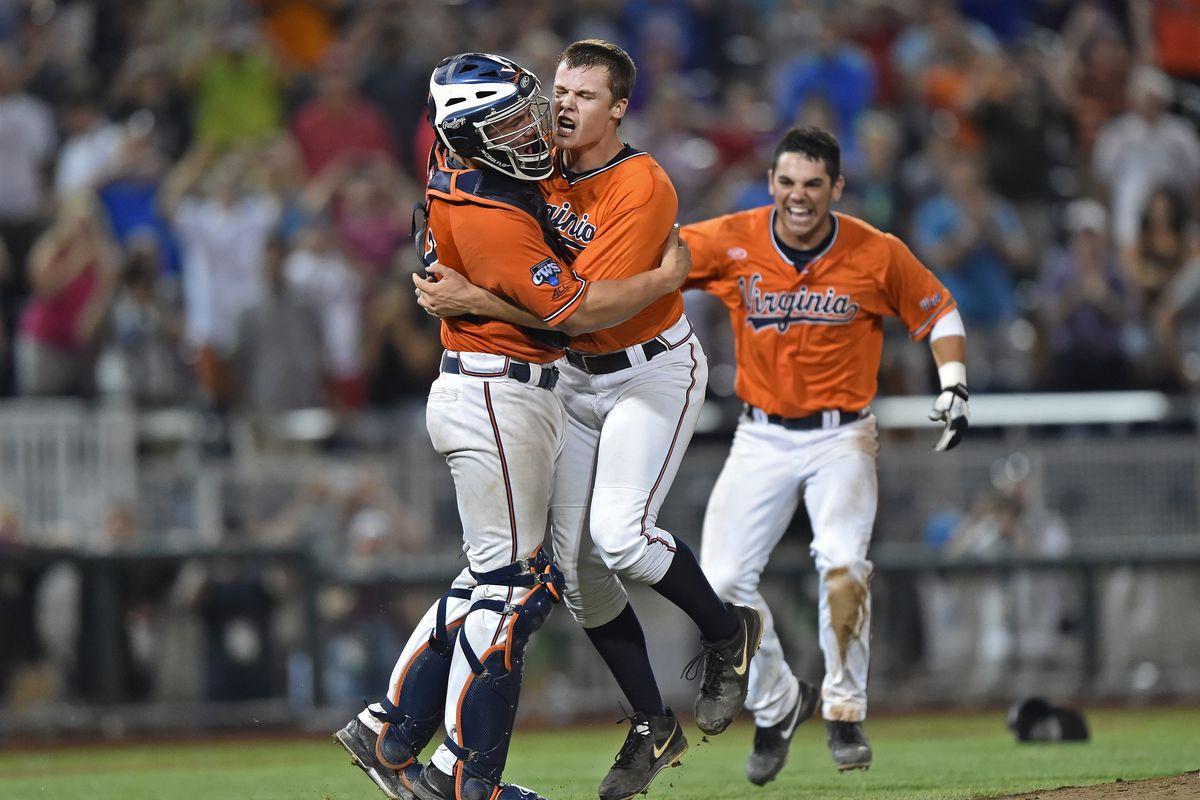College World Series - Virginia v Vanderbilt - Game Three