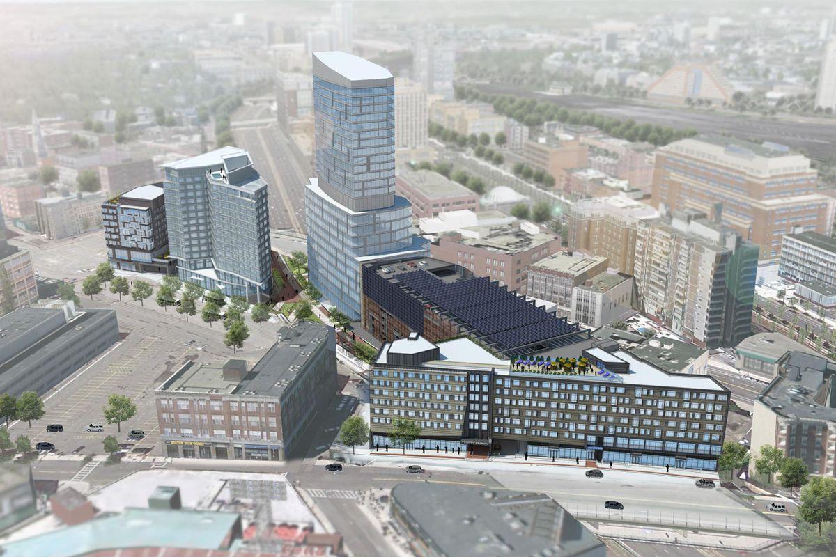 Fenway Center rendering