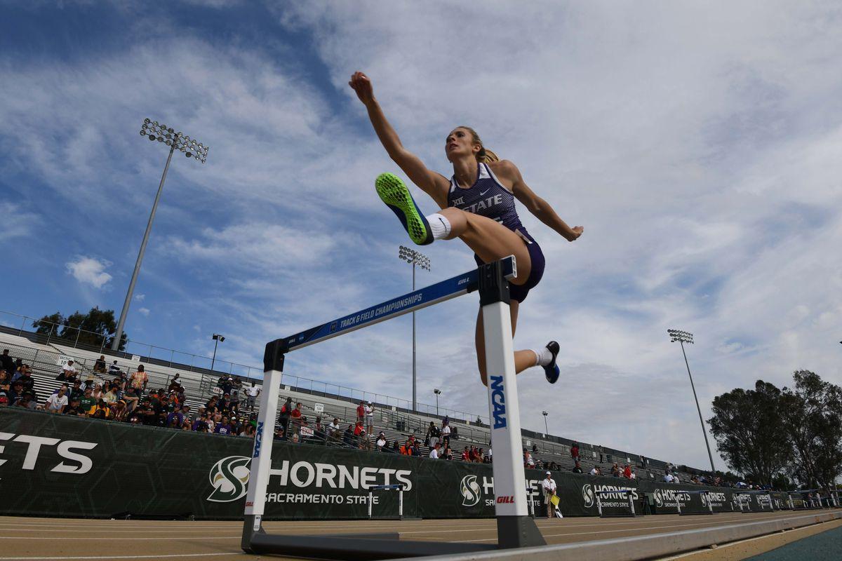 Lauren Taubert is now the NCAA heptathlon leader.