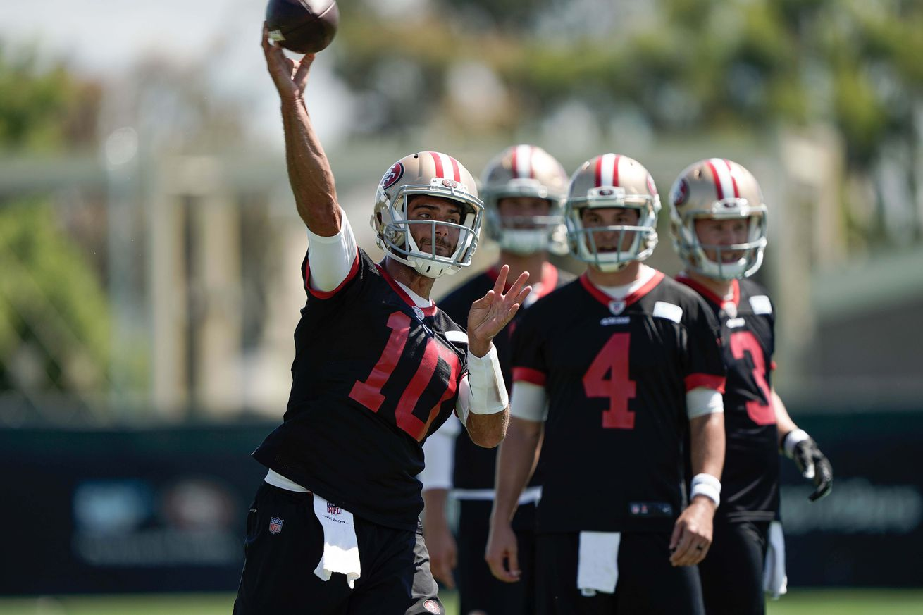 """So about that Nick Mullens/Jimmy Garoppolo """"controversy"""""""