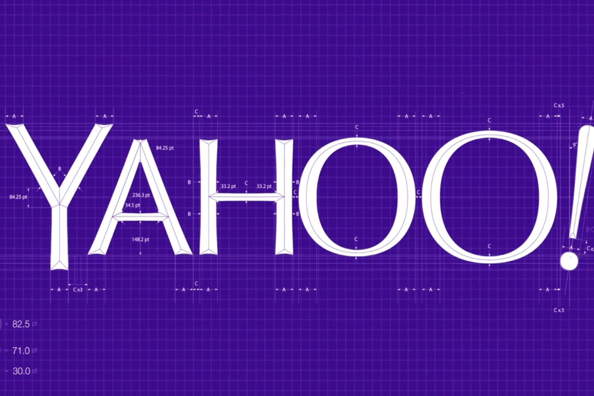 Yahoo reveals its new logo the verge yahoo logo lead ccuart Images