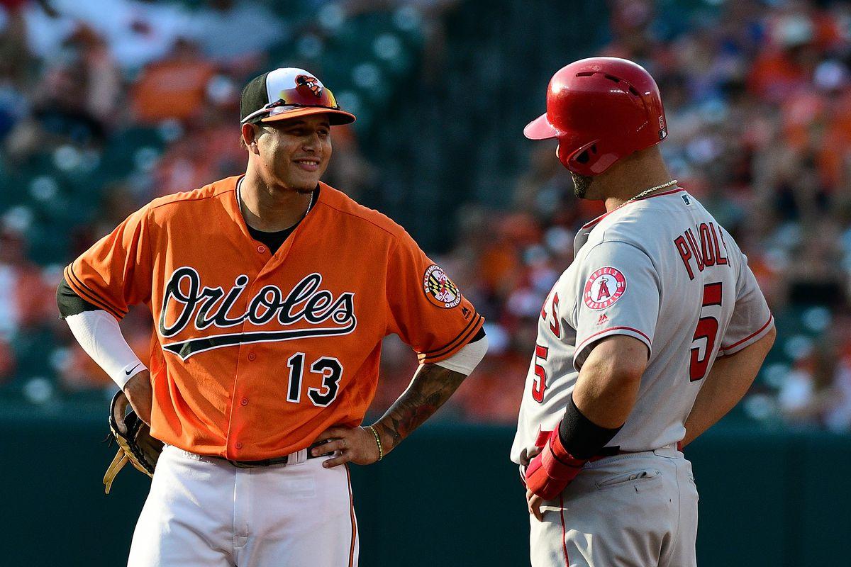 MLB: Los Angeles Angels at Baltimore Orioles