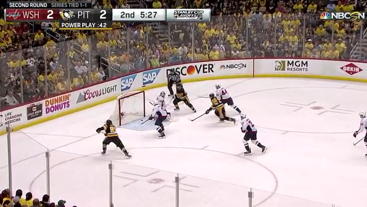 Stephenson grabs his second of the playoffs later in the frame on a great  shift by Oshie and Backstrom. Niskanen makes a potential game-saving play  by ... f461db4bb