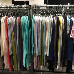 J Brand tee-shirts, long-sleeve shorts, and tank tops, $25