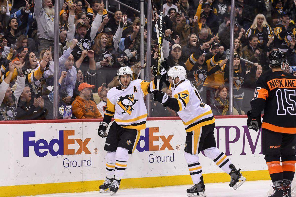 NHL: JAN 31 Flyers at Penguins