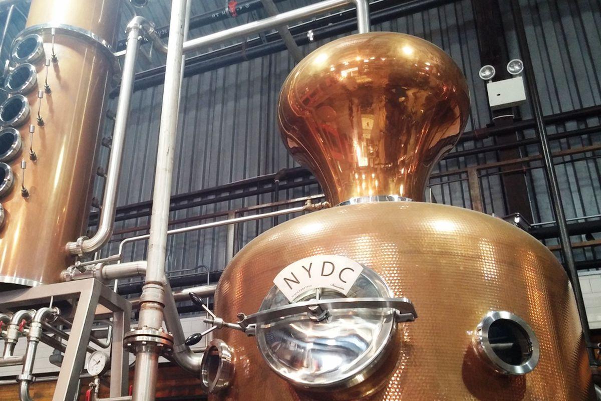 Inside Brooklyn's NY Distilling Co.