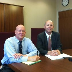 """William W. Slaughter, left, and Richard E. Turley Jr. are the co-authors of """"How We Got the Book of Mormon."""""""