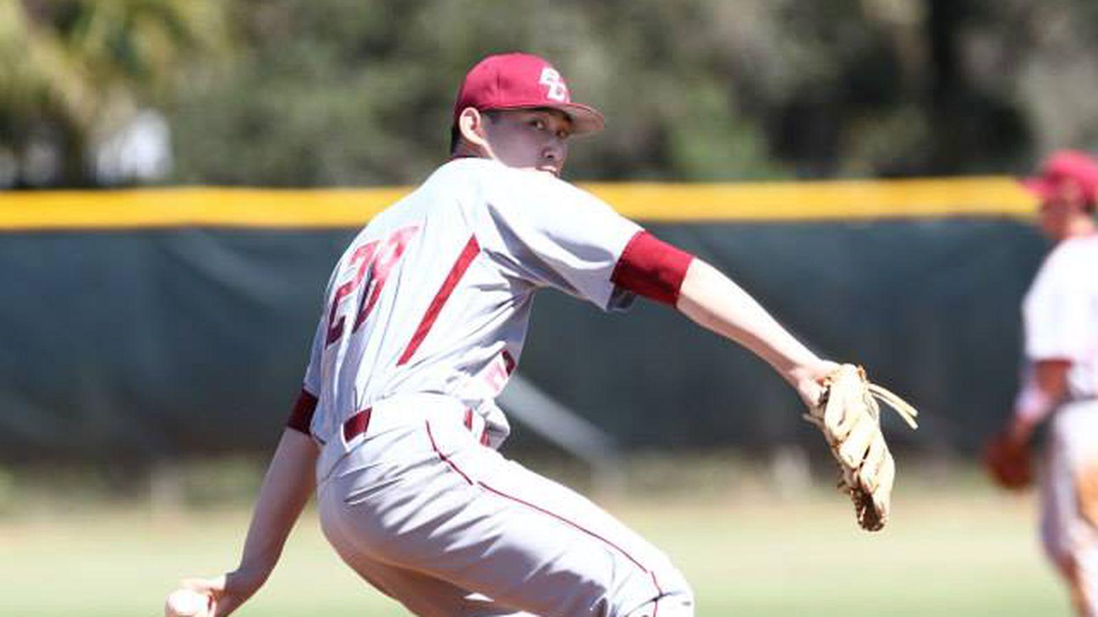 2014 MLB Draft: Boston College Baseball's Andrew Chin ...
