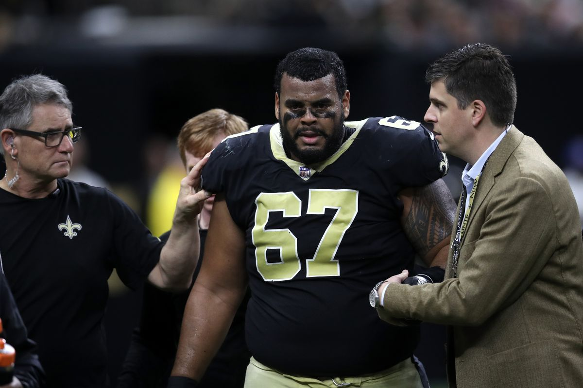official photos aeb89 2588b Saints injury report: Larry Warford doesn't practice on ...