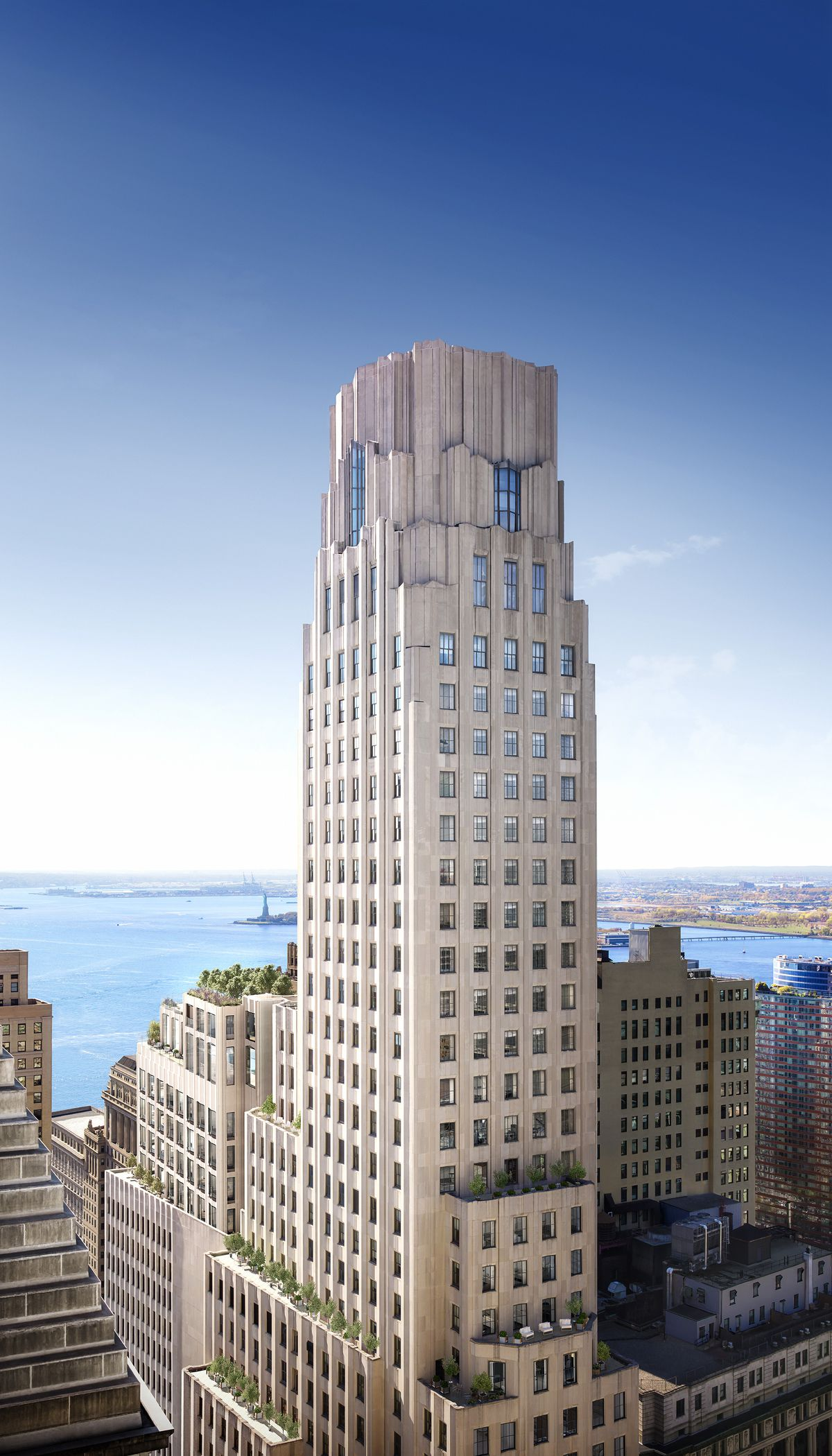 FiDi landmark One Wall Street'...