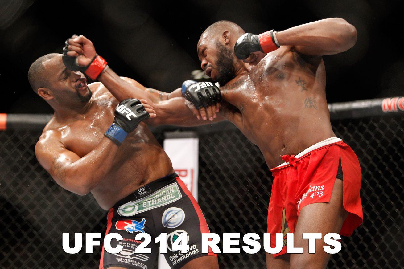community news, UFC 214 results: Daniel Cormier vs Jon Jones live stream play by play updates