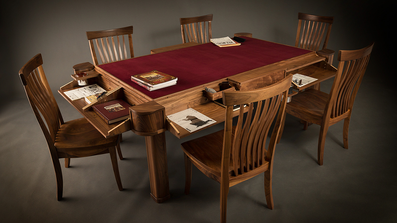 Geek Chic, maker of exquisite gaming tables, has gone out of business