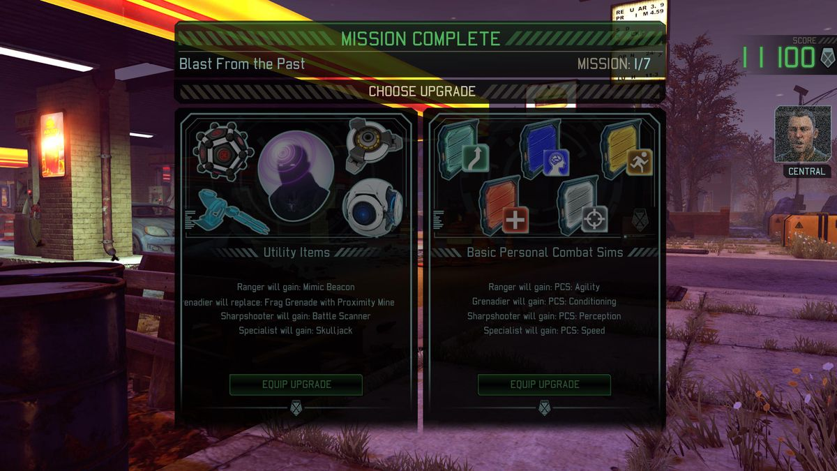 XCOM 2: War of the Chosen Tactical Legacy Pack - post-mission upgrade screen