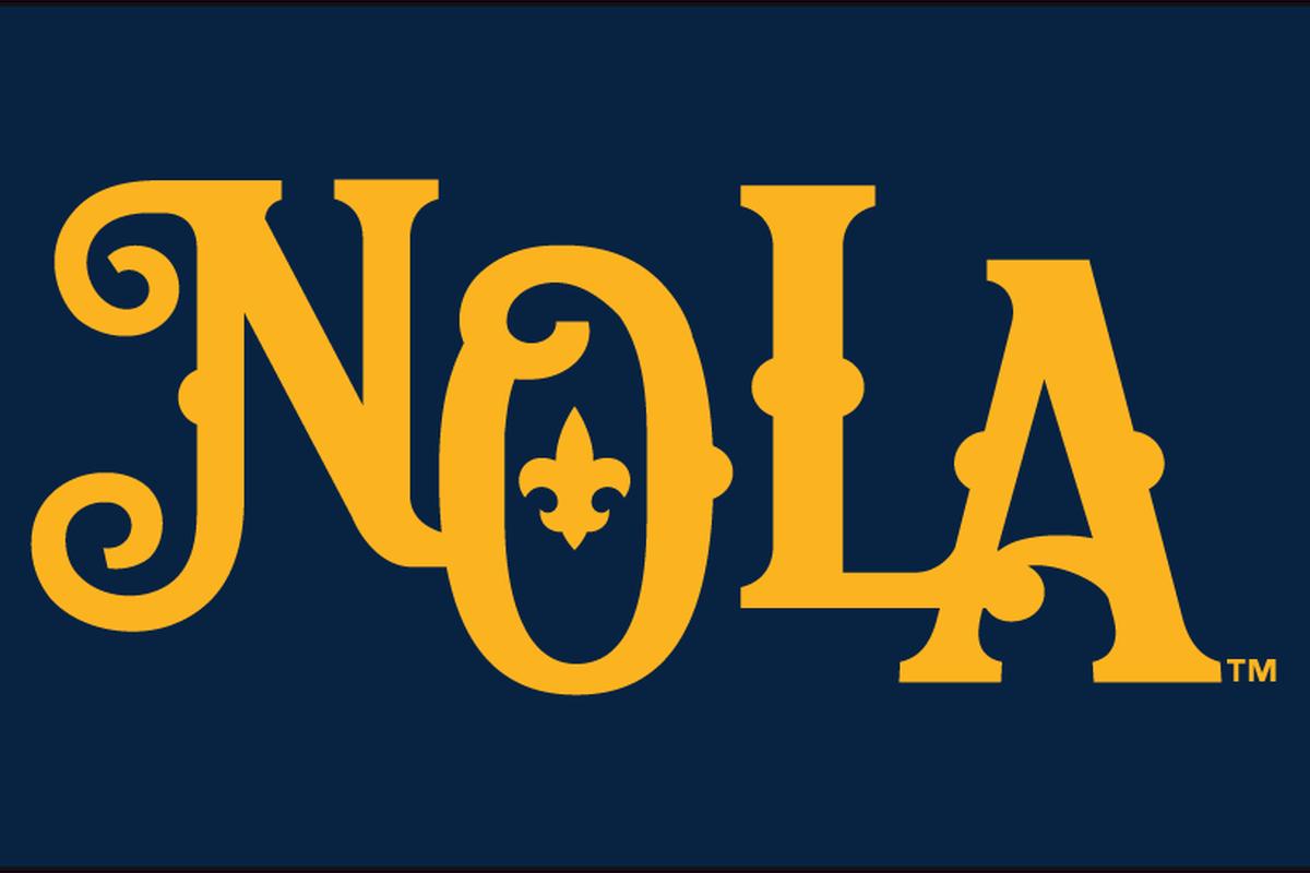 Cakes coverage destin hood and vance worley lead new orleans nola logo sportslogo buycottarizona Choice Image