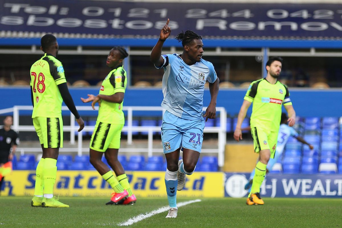 Coventry City v Bolton Wanderers - Sky Bet League One - St Andrew's Trillion Trophy Stadium