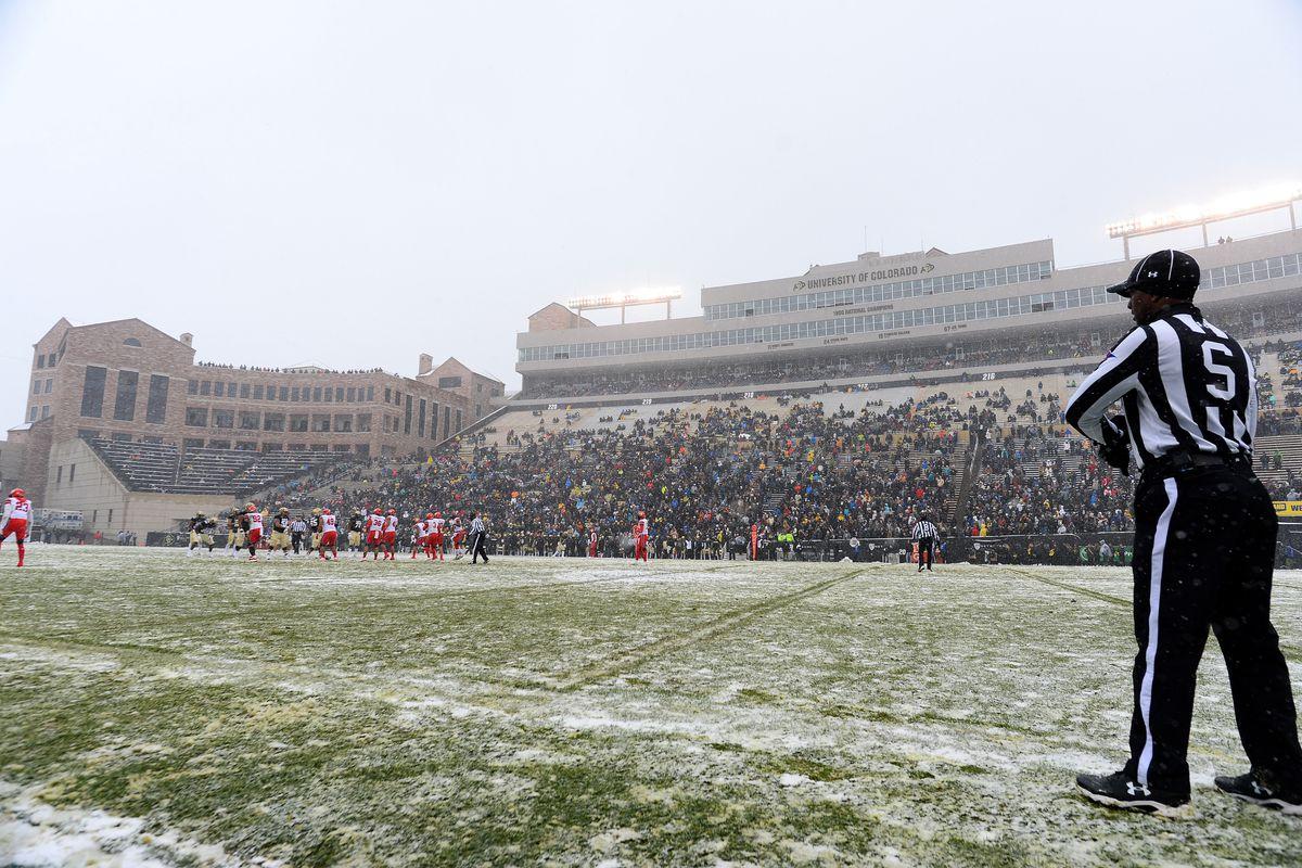NCAA Football: Utah at Colorado