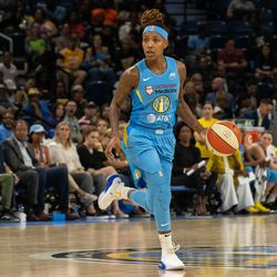 Jamierra Faulkner had three points, two rebounds and two assists in just six minutes of play.