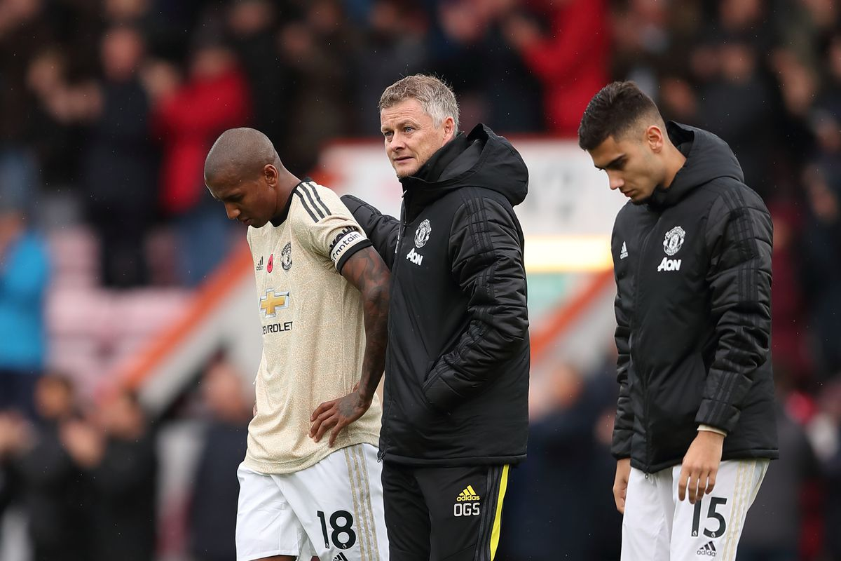 Image result for bournemouth 1-0 man united
