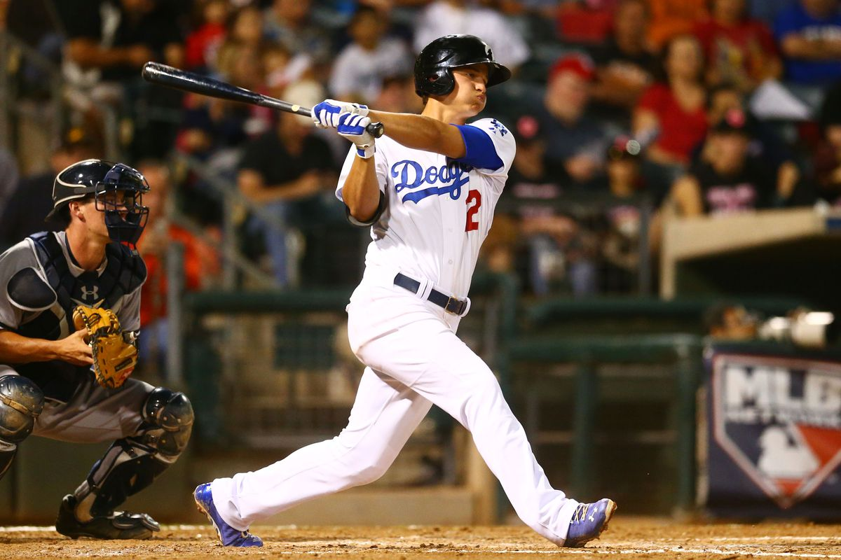 Corey Seager's hot April earned him a promotion to Triple A Oklahoma City