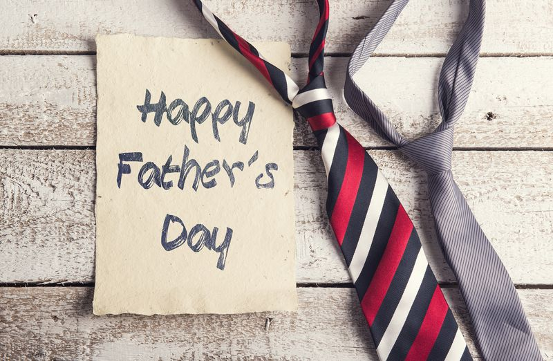 Father's Day and ties: together forever