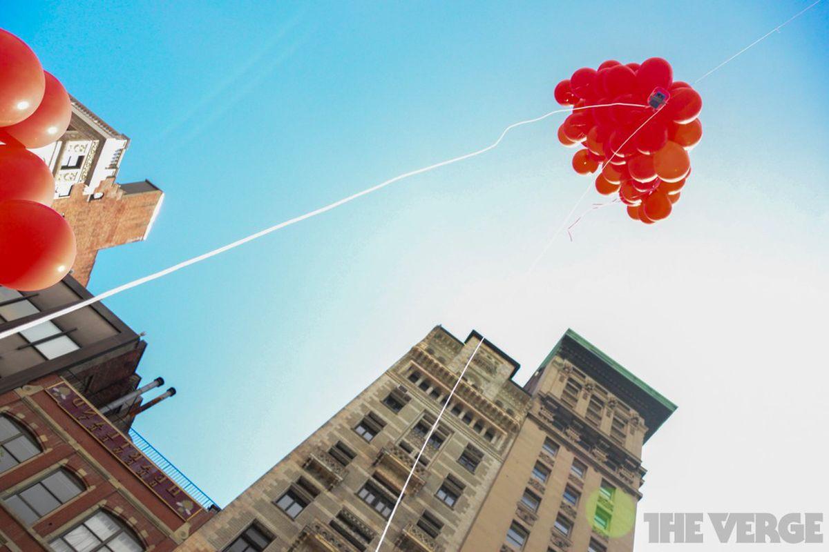 Occupy balloon camera