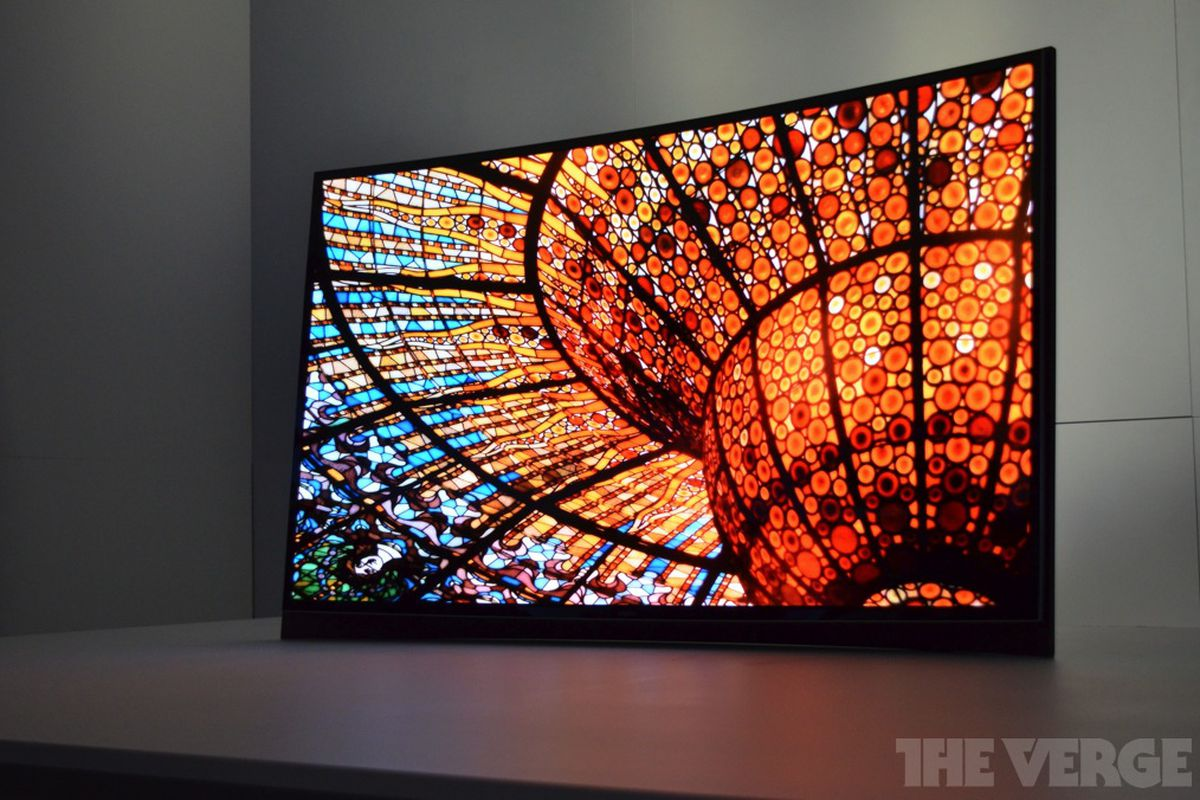 lg u0027s new flagship 4k oled tv is stunningly thin the verge