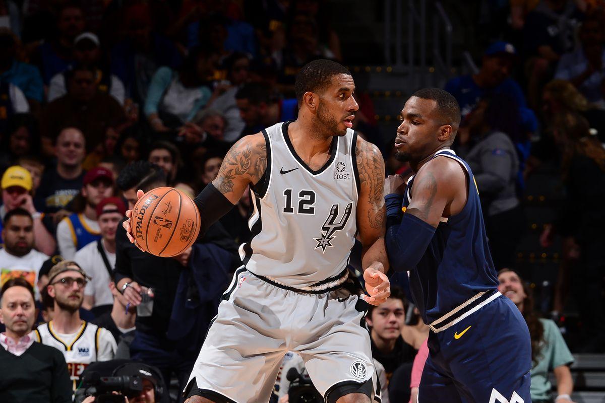 San Antonio Spurs v Denver Nuggets - Game Seven