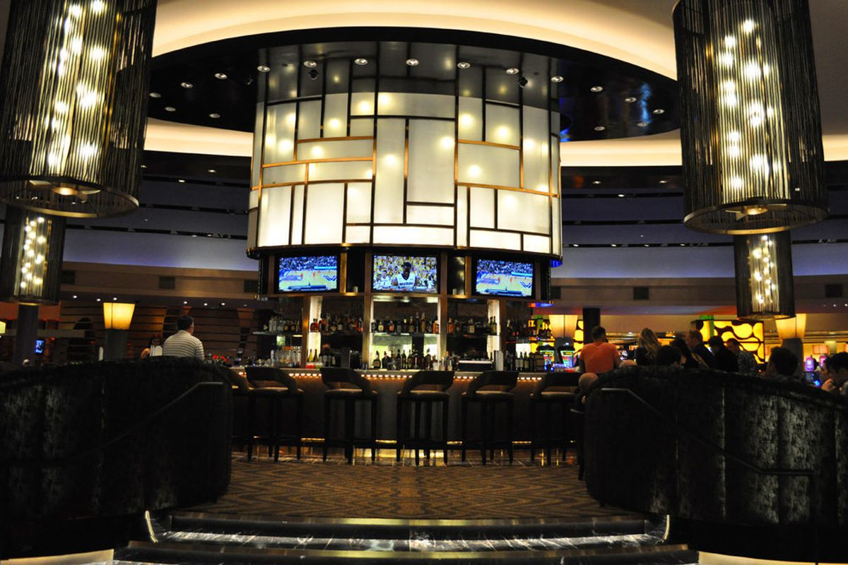 Social, the new center bar at Palms has opened.