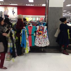 The first SF shoppers