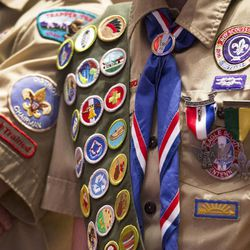 Thousands of scouts and their leaders assemble Tuesday, Oct. 29, 2013 in the Conference Center in Salt Lake City to celebrate a century of honor.