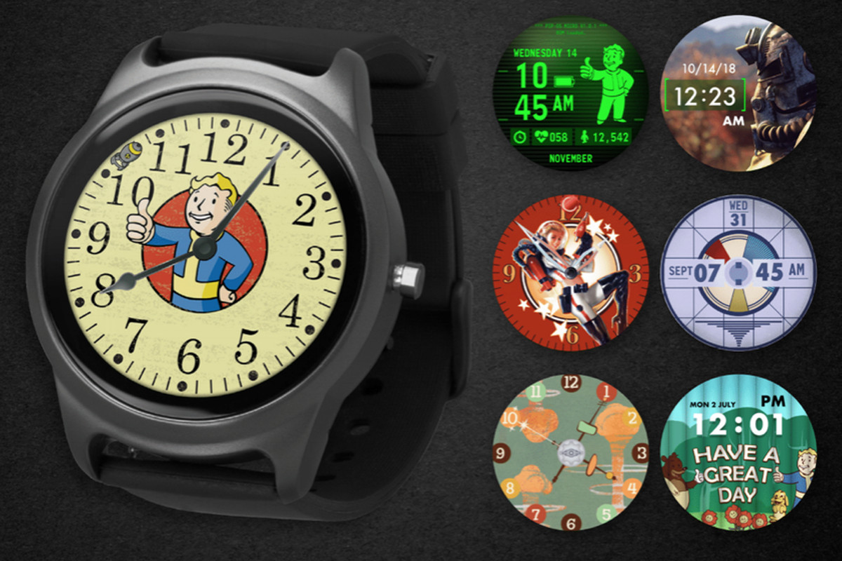 3a4b42ce89e Fallout-themed smartwatch could convince me to hand over my caps ...
