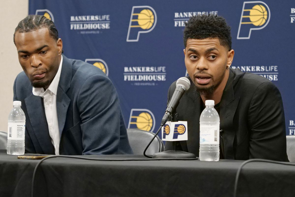 Indiana Pacers Introduce Free Agents - Press Conference
