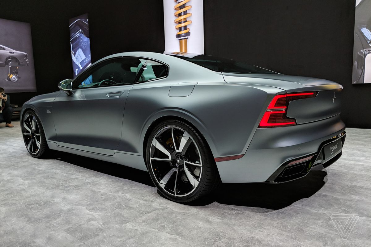 This Is The Polestar 1 Volvo S New Turbocharged Electric Coupe The Verge