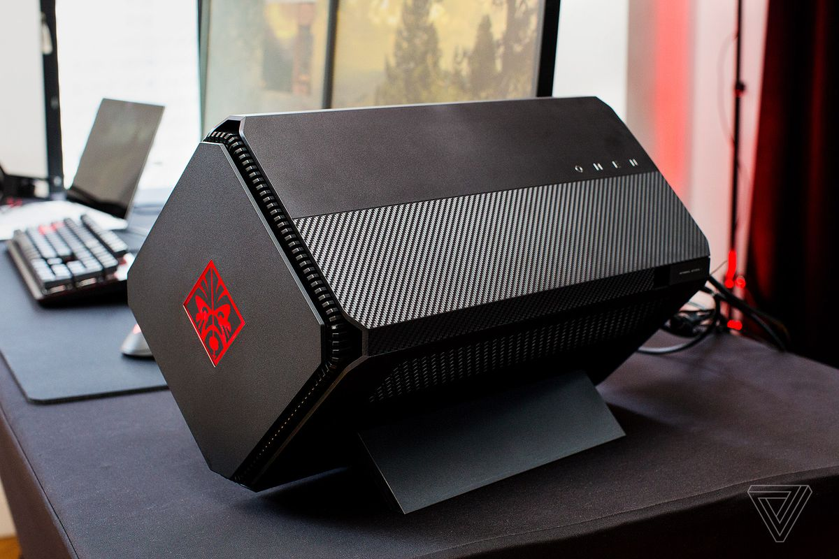 HP gets in on the external GPU hype with a pretty, large box