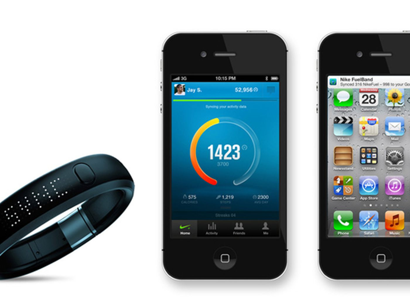Tumba Prehistórico Muscular  Nike+ FuelBand app for iOS updated with background syncing and battery  meter - The Verge