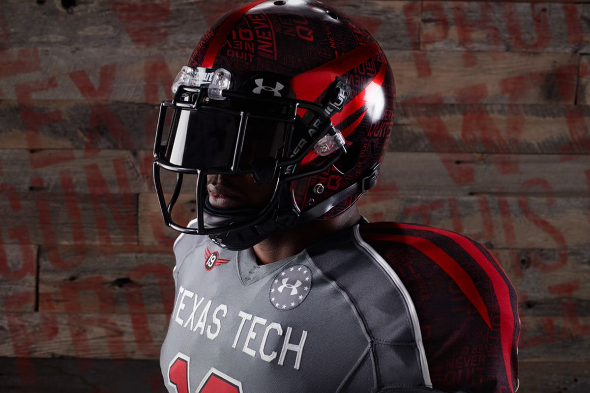 7a40ce19ca9 Texas Tech unveils new 'Lone Survivor' uniforms - SBNation.com