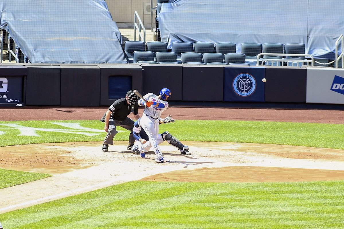 MLB: Game One-New York Mets at New York Yankees